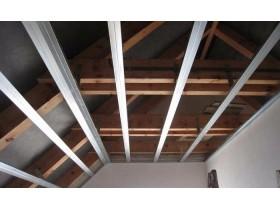 Как закрепить гипсокартон на потолке? 3 легких способа